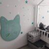 kot na ścianie