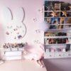 tablica króliczek biała